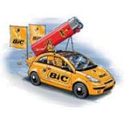bic Tour 2011 briquet