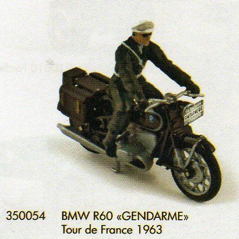 BMW R60 Gendarmerie du Tour de France 1963 Norev 350054