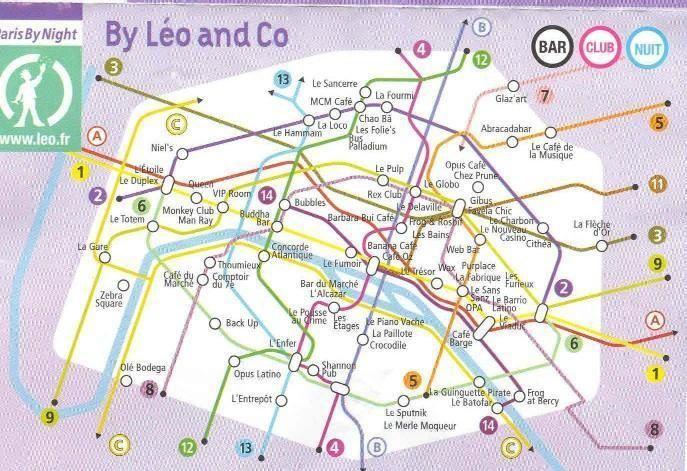 Stations de métro revues et corrigées