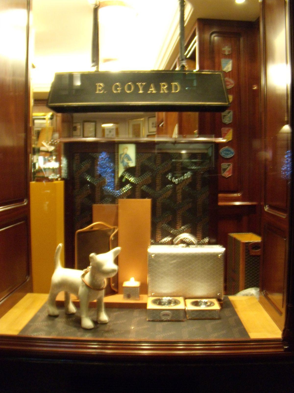 Archive 2009 blog archive le luxe selon goyard - Magasin de luxe londres ...