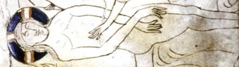 codex praye christ detail