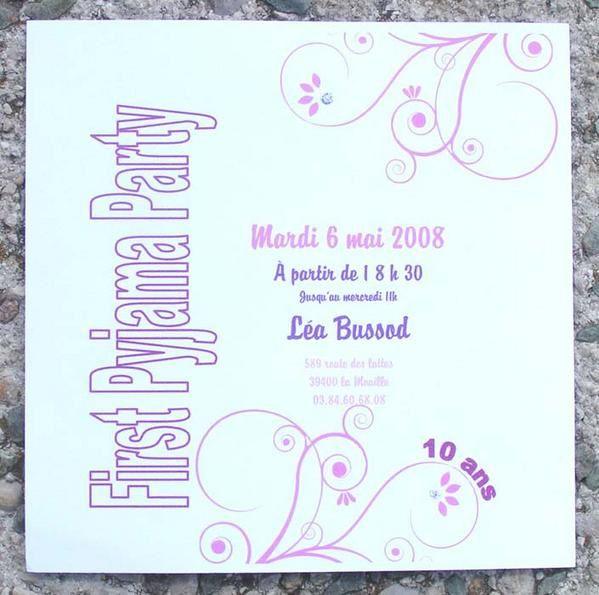 Bien connu First Pyjama Party - scrap de La Ste FG65