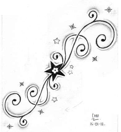 Dessin arabesques dessins pictures to pin on pinterest for Oif tattoo designs