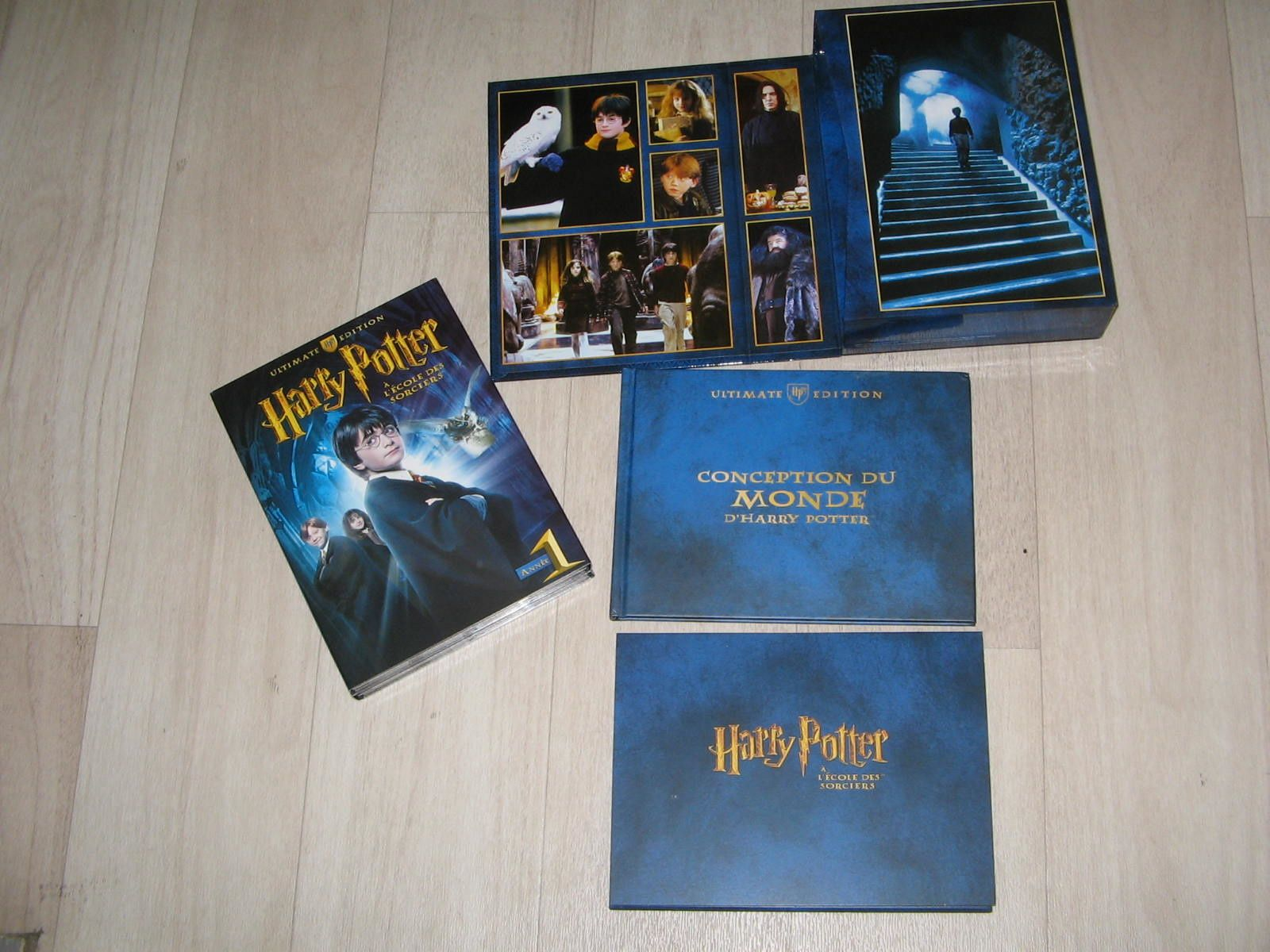 DVD harry potter à l'école des sorciers ultimate version