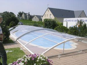 Commande d 39 un abri bas abrisud construction d 39 une for Abri piscine waterair