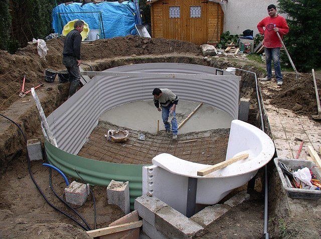 album montage construction d 39 une piscine waterair
