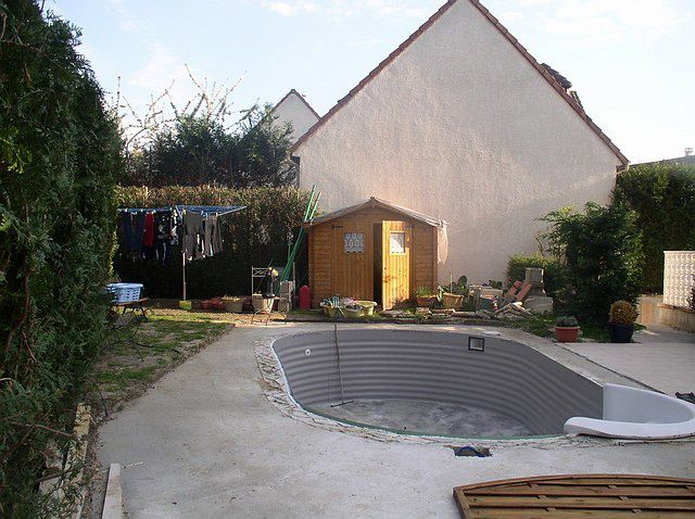 Creation de la plage construction d 39 une piscine waterair for Construction piscine 78