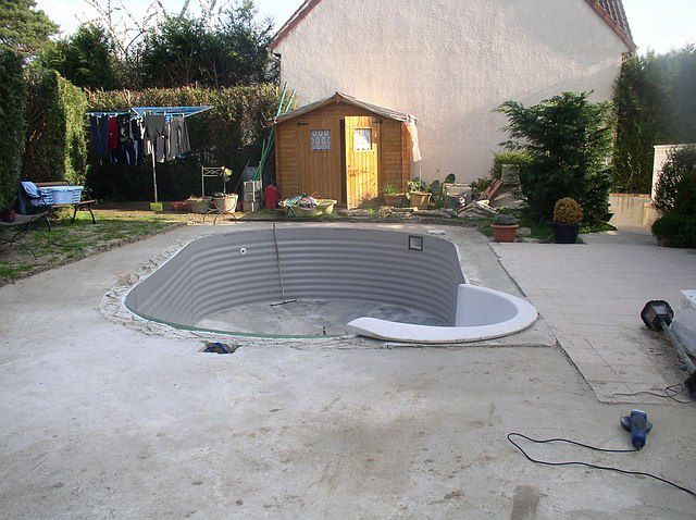 Construction d 39 une piscine waterair comment construire for Construction une piscine