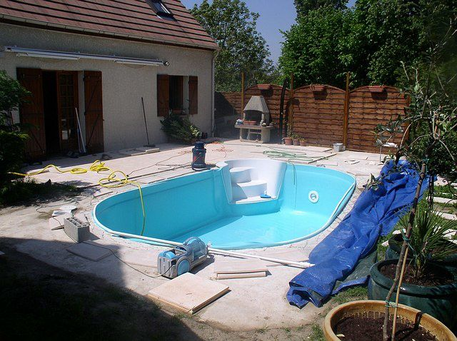 Album pose liner construction d 39 une piscine waterair for Pose liner piscine