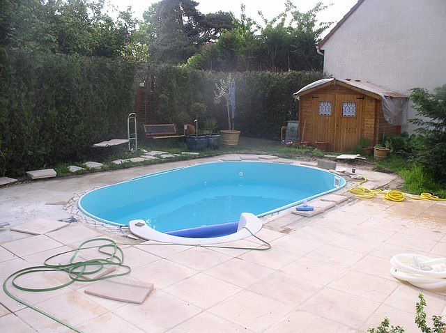 Album pose liner construction d 39 une piscine waterair for Construction piscine 78