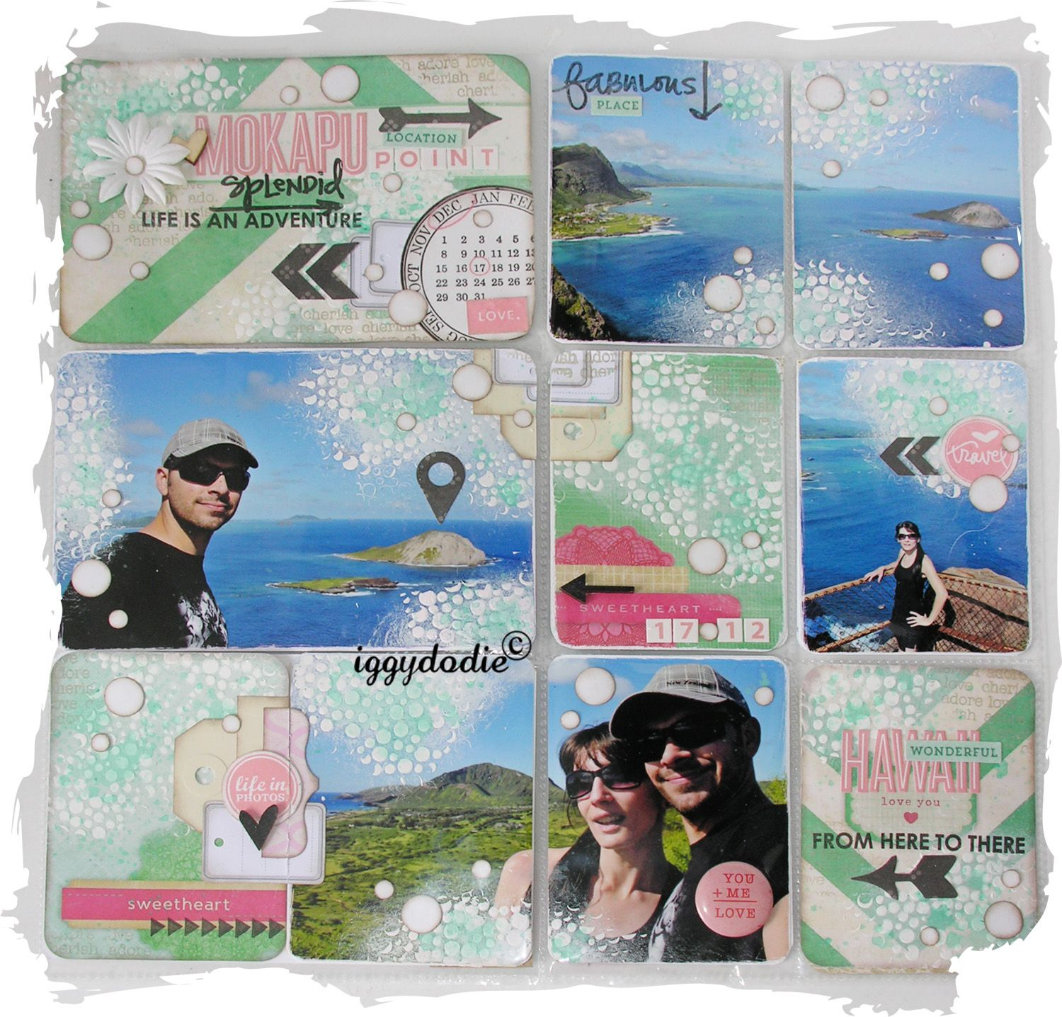 Album - Kits-mensuels-Project-Life-2