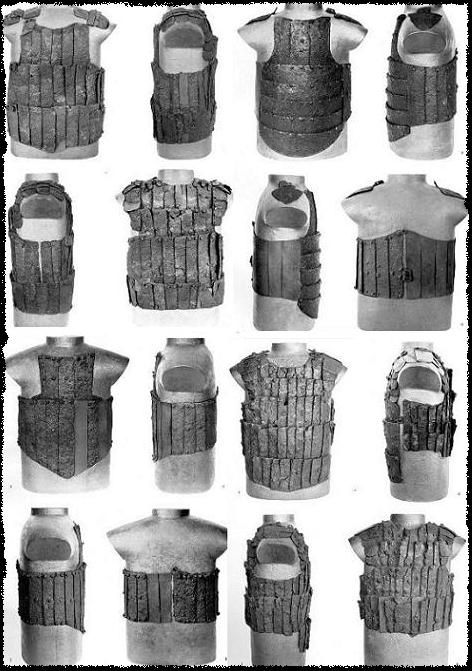 Armour from the Battle of Wisby 1361 t II 100