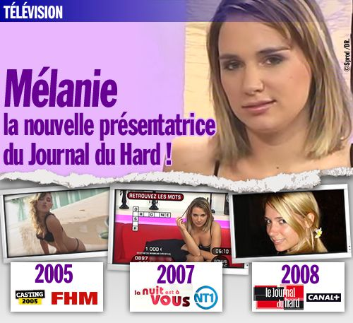 presentatrice du journal du hard