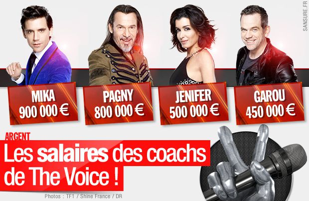 salaire the voice