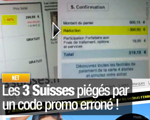 3 suisses bug 50pourcent