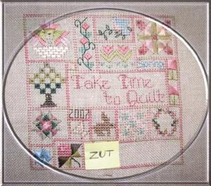 Jeannette Douglas - Time to quilt