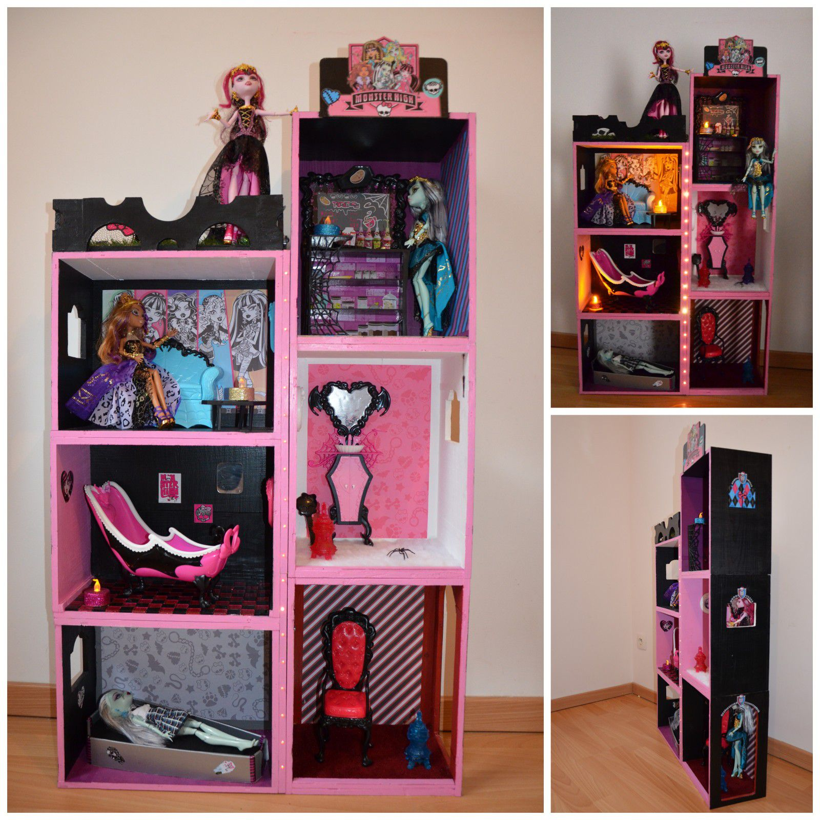 d co pour maison monster high. Black Bedroom Furniture Sets. Home Design Ideas