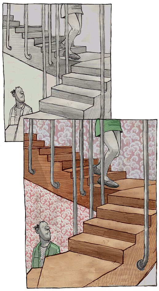 stairs dble