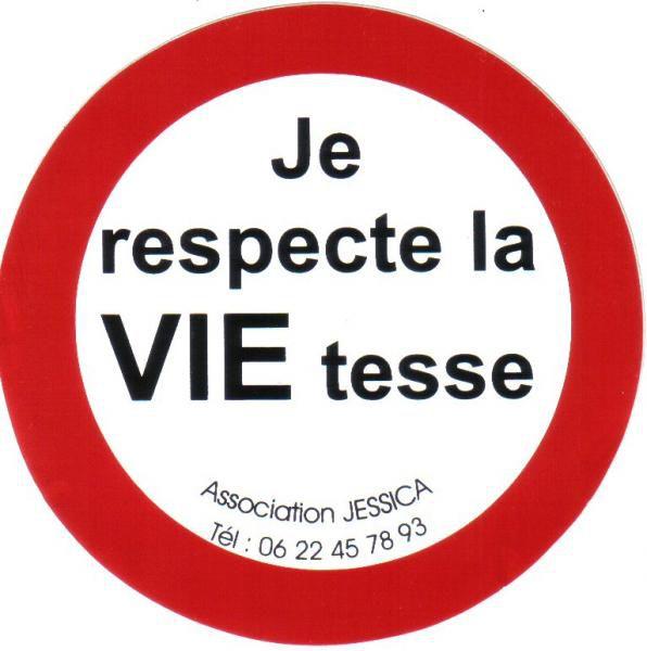 Des autocollants pour respecter la vie tesse association jessica aide aux victimes de la - Comment enlever un autocollant ...