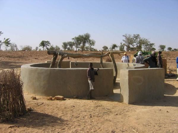 Rapport de mission f vrier 2006 via sahel toulouse for Construction d un puit