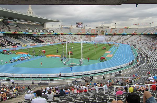 Barcelone 2010 - stade olympique