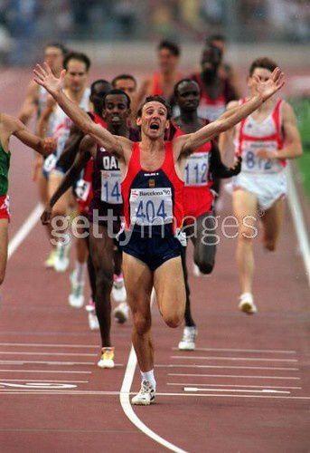 barcelone 1992 fermin cacho champion olympique 1500m