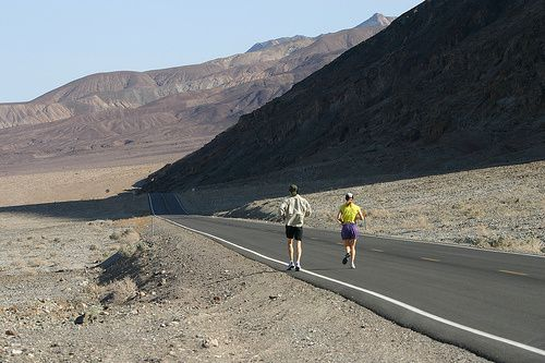 badwater ultra marathon usa - death valley
