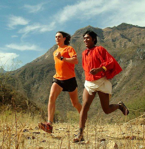 Born to Run - Arnulfo Quimare and Scott Jurek