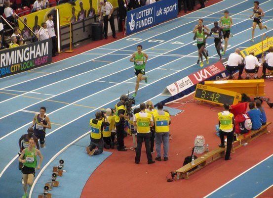 indoor 5000m Birmingham 2011 - Mo Farah - Galen Rupp