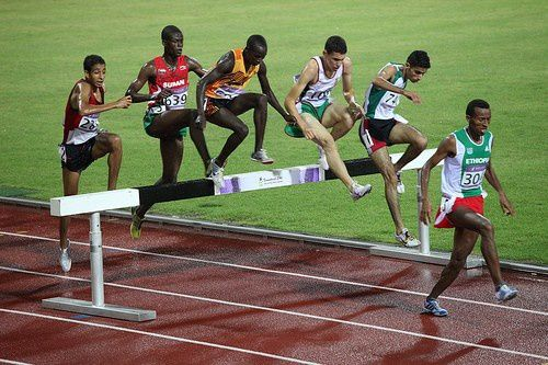 youth olympics hurdle steeplechase