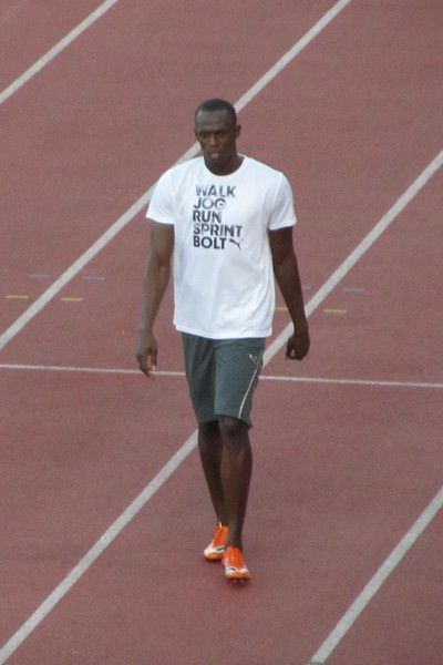usain bolt - athletissima 2010