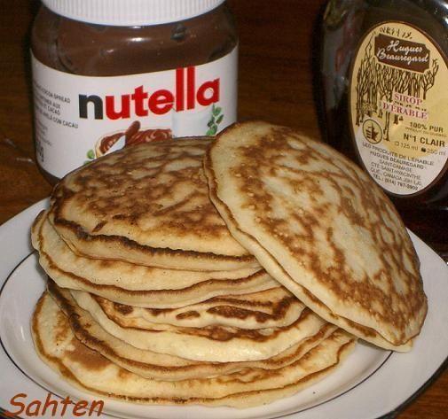 Pancakes Faciles Cuisine Libanaise Par Sahten