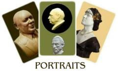 Visite en images: sculptures: portraits - Arts et sculpture: sculpteur portraitiste