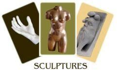 Visite en images: sculptures - Arts et sculpture: sculpteur, mouleur, designer CAO, artisan d'art