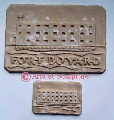 Diffusion du Patrimoine, biscuits Fort Boyard - Arts et Sculpture: sculpteur designer