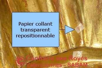 Numérisation: papier collant repositionnable - Arts et sculpture: sculpteur CFAO