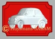 Badge Fiat 500 - Arts et Sculpture: sculpteur, artisan d'art