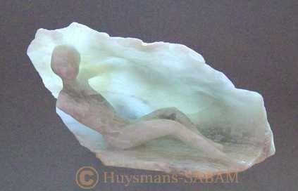 L'Eveil, sculpture et lumière - Serge Huysmans, Repliqua 3D: sculpteur sur pierre