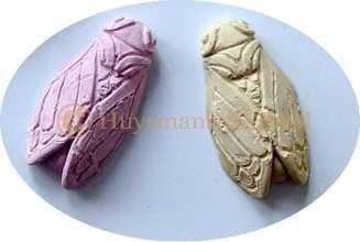 cigales sculptées en haut relief et coulées en plâtre coloré - Arts et sculpture: sculpteur mouleur