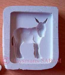 Moule en silicone âne - Arts et sculpture: sculpteurs, artisans d'art