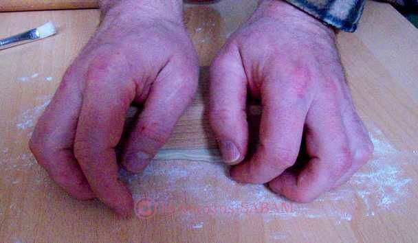 moule à biscuit en bois: impression sur la pâte - Arts et sculpture: sculpteur contemporain