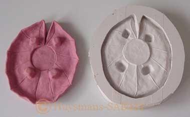 Sculpture originale et son moule en silicone - Arts et sculpture: sculpteur mouleur