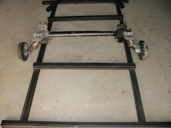 fabrication d 39 une remorque motos ma bultaco sherpa t 350. Black Bedroom Furniture Sets. Home Design Ideas