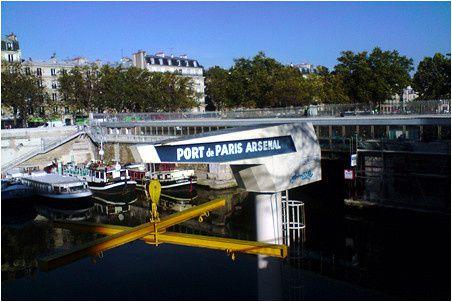 Le port de l 39 arsenal paris bastille photos nature - Port de l arsenal paris ...
