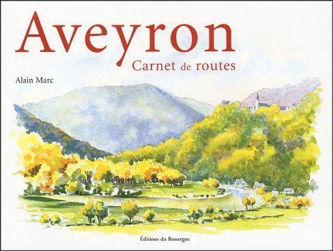 Couverture Aveyron, carnet de rte