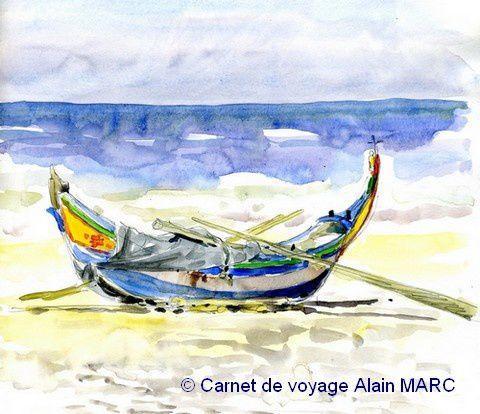 La barque portugaise