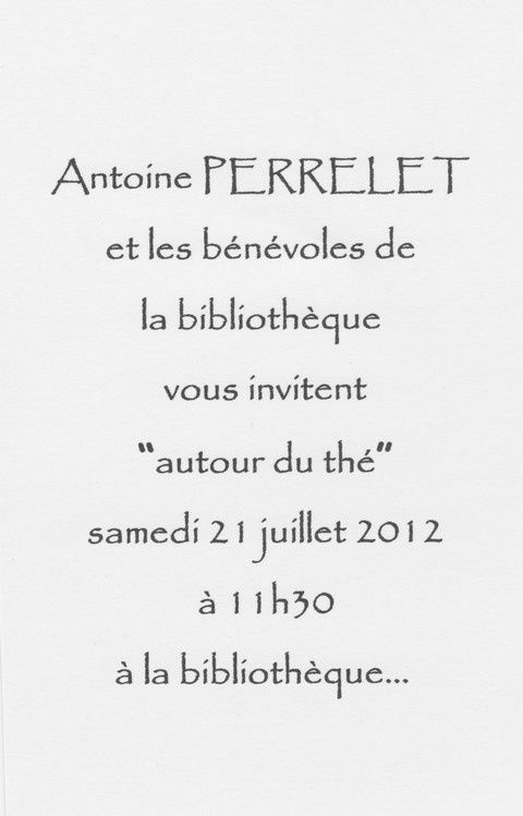 Invitation Vernissage A.P. 1