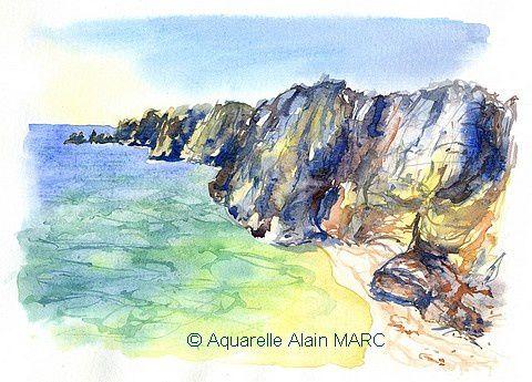 Plage Praia Dona Ana, Algarve par Alain MARC