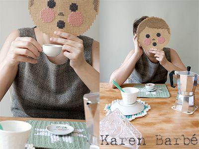Karen Barbe-masque