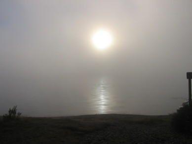 Levé de soleil sur le lac Savane - Parc du Mont-Tremblant
